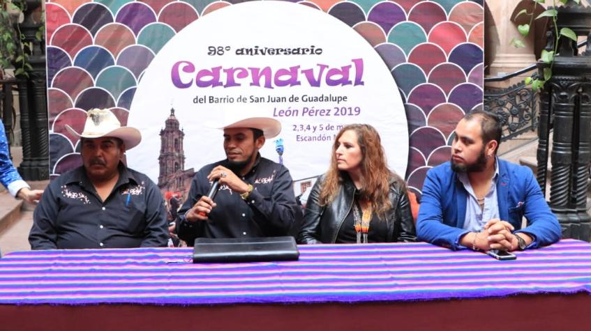 Anuncian El 98 Aniversario Del Carnaval De San Juan De