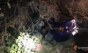 Chofer de «rides» murió tras choque en la carretera Rioverde SLP