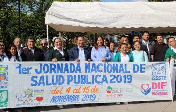Autoridades de Rioverde convocan a la Jornada Nacional de Salud - Quadratín - Quadratín San Luis