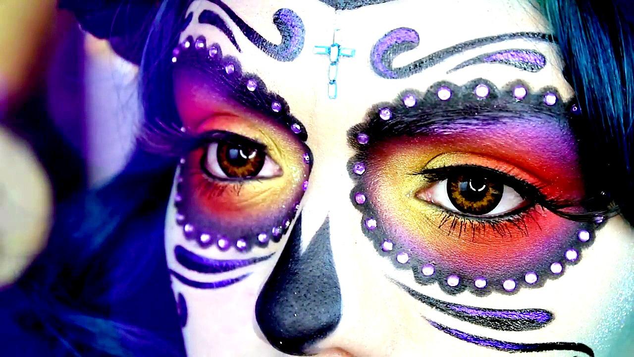 Pincelando A La Catrina Tendencia De Maquillaje Cobra Fuerza Noticias De San Luis Potosi