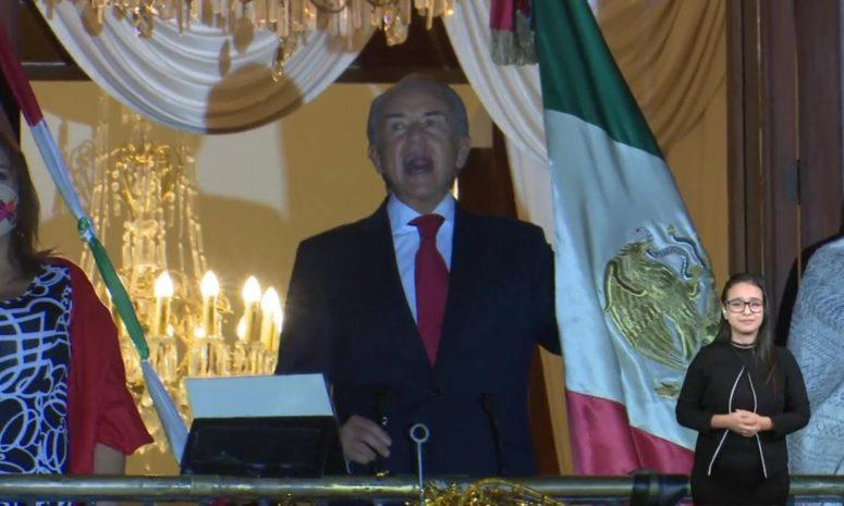 JM Carreras dio su último Grito de Independencia como gobernador de SLP